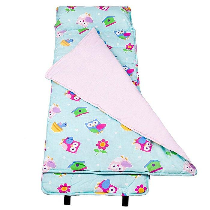 【LOVEBBB】符合美國標準 Wildkin 28407 柏蒂鳥 無毒幼教睡袋/午覺毯/兒童睡袋(3-7歲)
