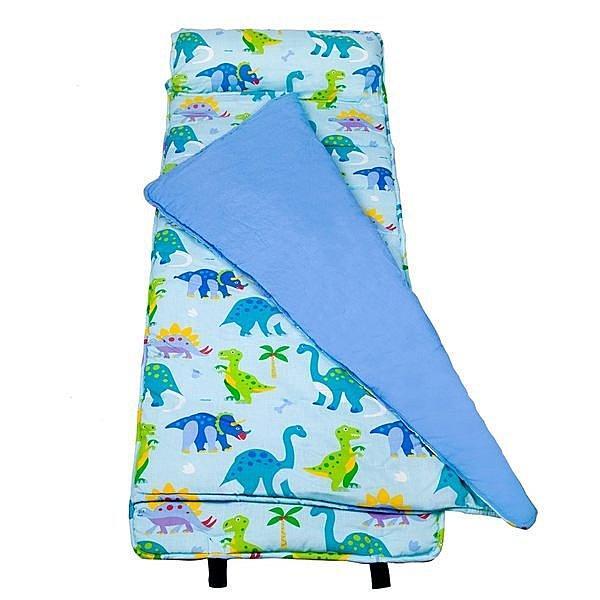 【LOVEBBB】符合美國標準 Wildkin 28408 恐龍樂園 無毒幼教睡袋/午睡毯/兒童睡袋(3-7歲)
