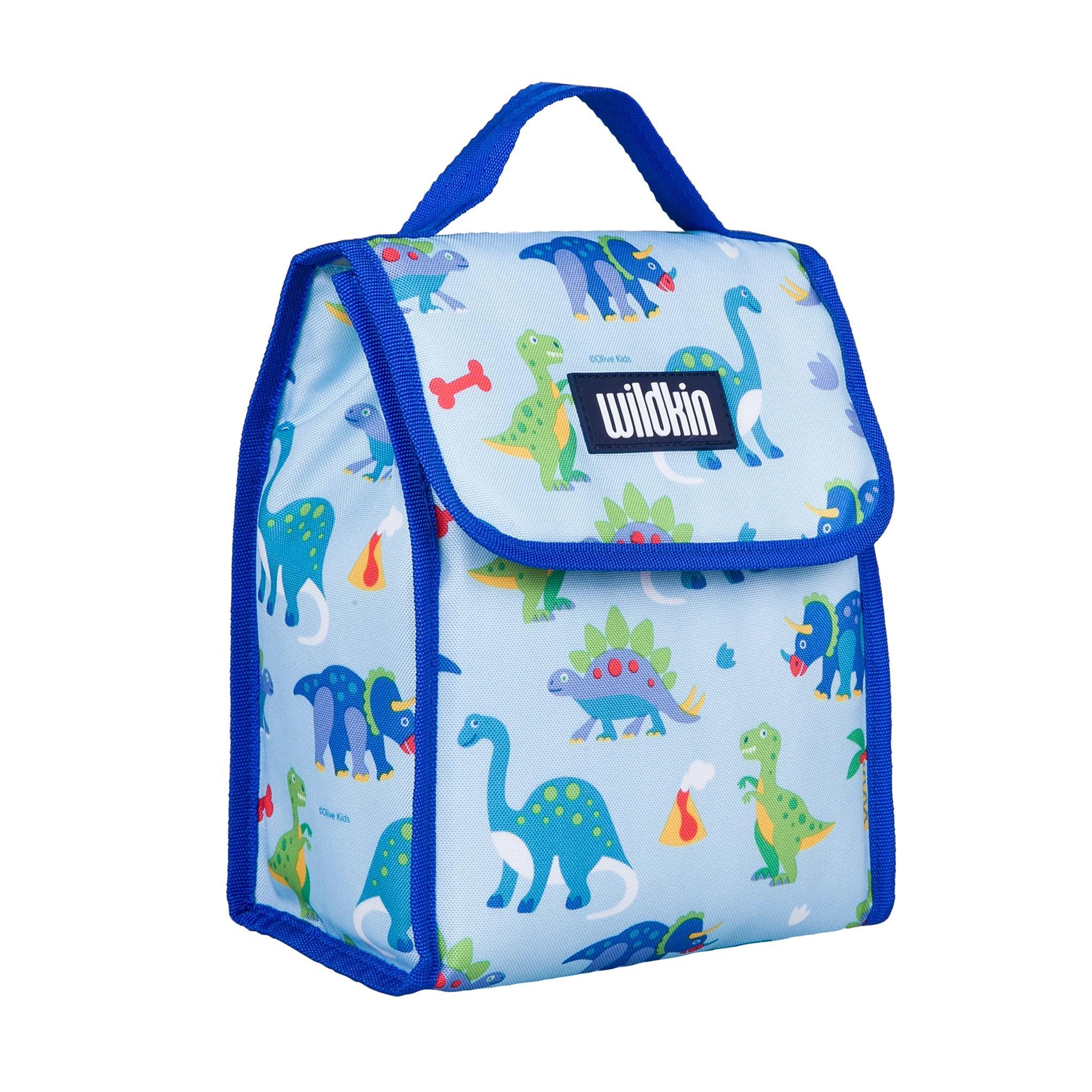 【LOVEBBB】符合CPSIA美國 Wildkin 55408 恐龍樂園 直立式午餐袋/便當袋/保溫袋(3歲以上)