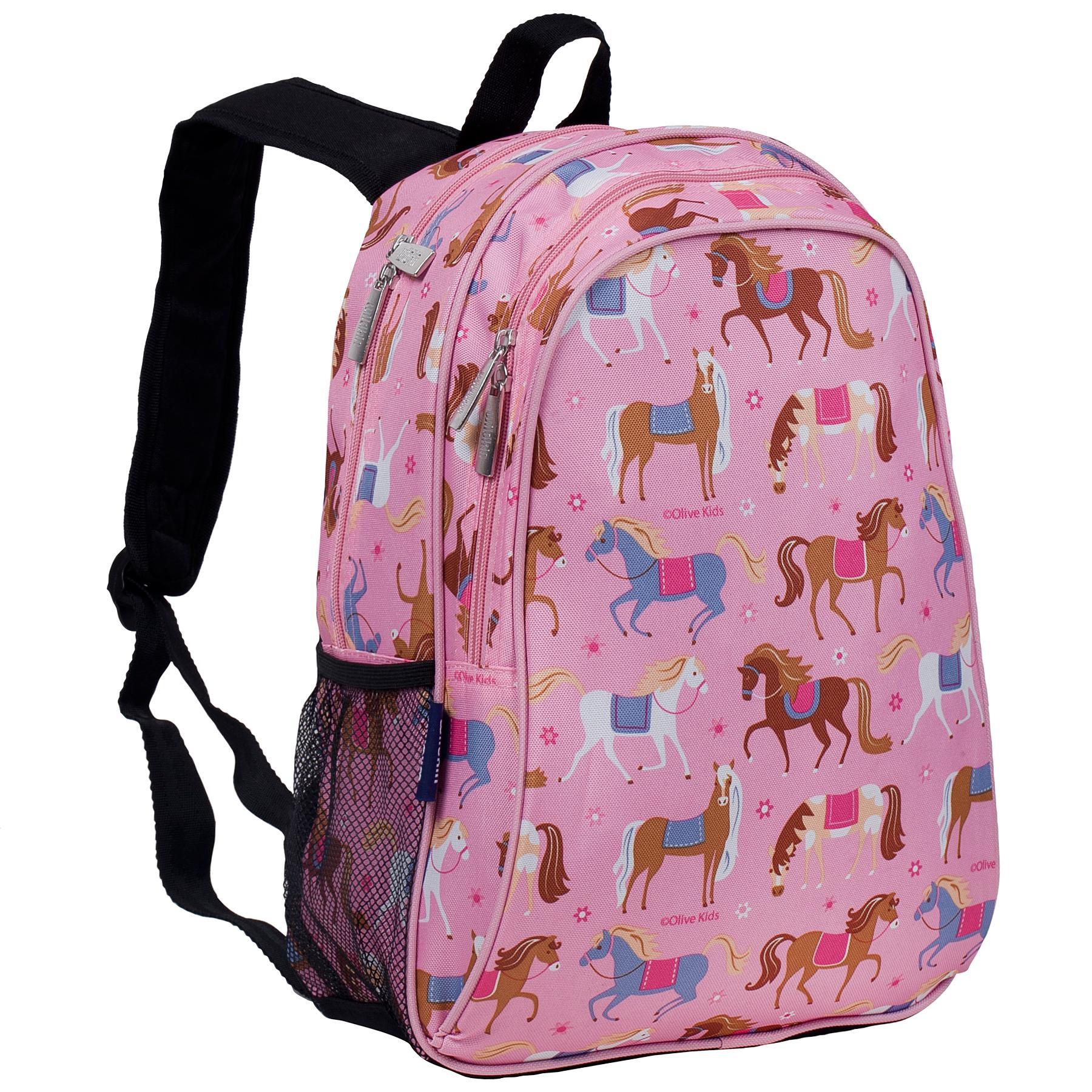【LOVEBBB】美國 Wildkin 67708 凱莉小馬 兒童後背包/雙層式便利書包