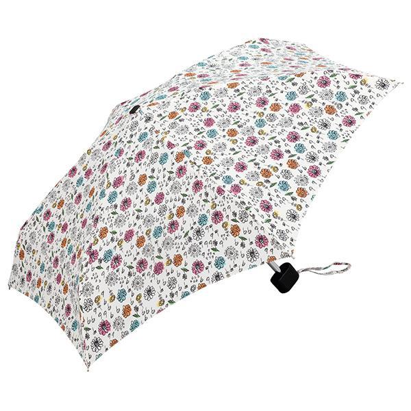 日本KIU 輕巧摺疊抗UV晴雨傘 31010 花雨