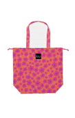 日本KIU 47043 粉紅哈娜 防水防雨 空氣感豆干包/包包雨衣 購物玩沙戲水必備