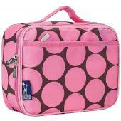 【LOVEBBB】符合美國 CPSIA 標準 Wildkin 33085 粉紅圓點 保冰保溫午餐袋/便當袋 (3~15歲)