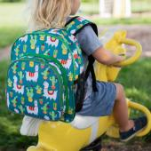 [LoveBBB]符合美國 CPSIA 標準 Wildkin 40900 羊駝與仙人掌 幼兒背包/幼稚園/寶寶書包 (2~6)