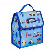 【LOVEBBB】符合CPSIA美國 Wildkin 55079 交通工具大集合 直立式午餐袋/便當袋/保溫袋(3歲以上)