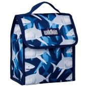 【LOVEBBB】符合CPSIA美國 Wildkin 55700 鯊魚家族 直立式午餐袋/便當袋/保溫袋(3歲以上)