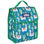 【LOVEBBB】符合CPSIA美國 Wildkin 55900 羊駝與仙人掌 直立式午餐袋/便當袋/保溫袋(3歲以上)