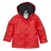 無毒!【美國OAKI】兒童防水外套/擋風雨衣 60501 紅黑配 晴雨兩用 男女適用 (4t-10)