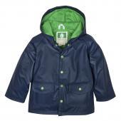 無毒!【美國OAKI】兒童防水外套/擋風雨衣 60510 藍綠配 晴雨兩用 男女適用 (4t-10)