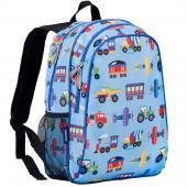 【LOVEBBB】美國 Wildkin 67079 交通工具大集合 兒童後背包/雙層式便利書包