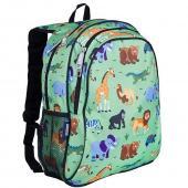 【LoveBBB】美國 Wildkin 兒童後背包/雙層式便利書包 67080 野生動物園