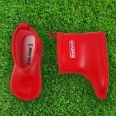 日本KidForet  B81824R  紅色  兒童雨鞋