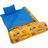 [LoveBBB] 符合 CPSIA 標準 美國 Wildkin 17110 怪手卡車 拉鍊睡袋/兒童睡袋 (5-15歲)