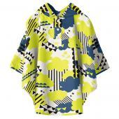 日本KIU 30053S 搖滾雲朵 空氣感兒童雨衣/披風式/寶寶雨披/防水披肩/斗篷 附收納袋(80cm+)