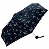 日本KIU 輕巧摺疊抗UV晴雨傘 31106 藍色夏威夷