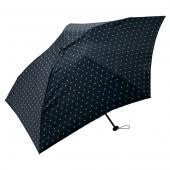 日本KIU 空氣感90g摺疊抗UV晴雨傘 34039 點點星