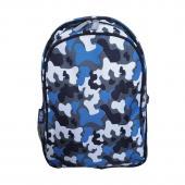 【LOVEBBB】美國 Wildkin 67213 藍迷彩 兒童後背包/雙層式便利書包