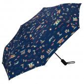 日本KIU ASC UMBRELLA自動開合雨傘/抗UV陽傘 65139 拉丁風情