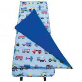 【LOVEBBB】符合美國標準 Wildkin 28079 交通工具大集合 無毒幼教睡袋/午覺毯(3-7歲)