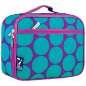【LOVEBBB】符合美國 CPSIA 標準 Wildkin 33119 藍紫圓點 保冰保溫午餐袋/便當袋/點心盒 (3~15歲)