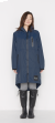 日本KIU 116910 海軍藍 空氣感雨衣/時尚防水風衣 附收納袋(男女適用)