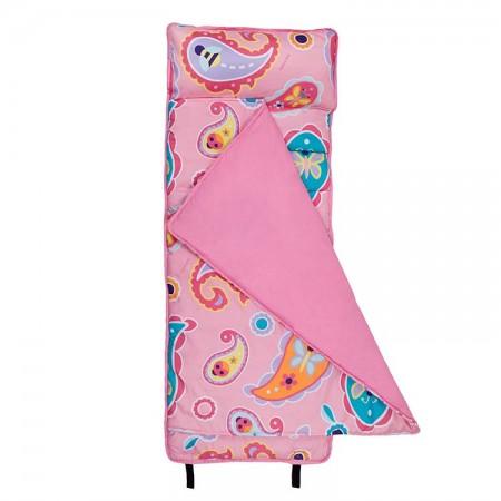 【LOVEBBB】 符合美國標準 Wildkin 49210 粉紅佩絲麗 無毒幼教睡袋/午覺毯/兒童睡袋(2-7y)