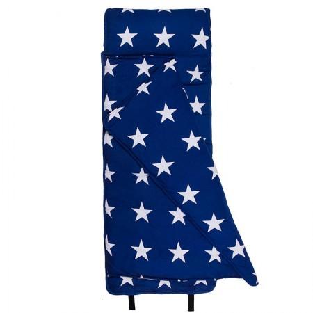 [LOVEBBB] 無毒幼教睡袋 符合美國標準 Wildkin 28900BW 藍白星 午睡毯(2-7y)