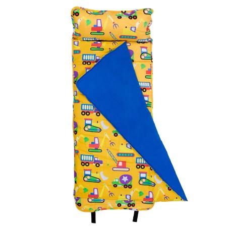 【LOVEBBB】符合美國標準 Wildkin 28110 怪手卡車 無毒幼教睡袋 /Nap Mat/午睡墊(3-7歲)