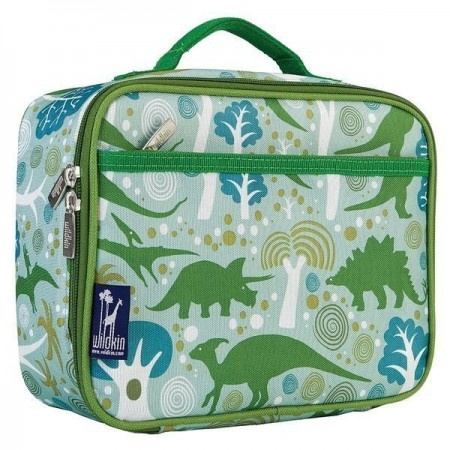 【LOVEBBB】符合美國 CPSIA 標準 Wildkin 33313 小迪諾恐龍王國 保冰保溫午餐袋/便當袋 (3~15歲)