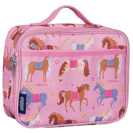 【LOVEBBB】符合美國 CPSIA 標準 Wildkin 33708 凱莉小馬 保冰保溫午餐袋/便當袋 (3~15歲)