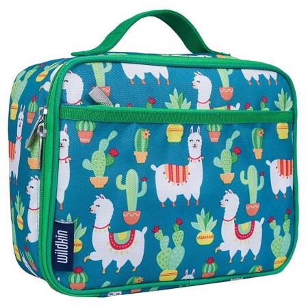 【LoveBBB】美國標準無毒 Wildkin 33900 羊駝與仙人掌 午餐袋/便當袋