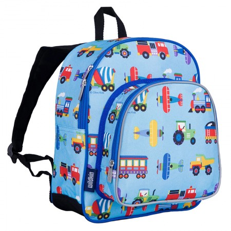 【LOVEBBB】符合美國 CPSIA 標準 Wildkin 40078 交通工具大集合 幼兒點心背包/書包 (3~6歲)