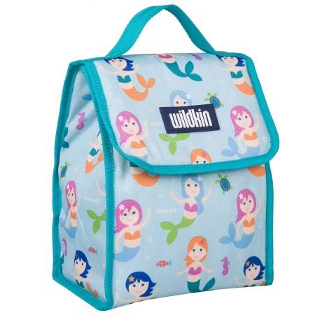 【LOVEBBB】符合CPSIA美國 Wildkin 55081 小美人魚 直立式午餐袋/便當袋/保溫袋(3歲以上)