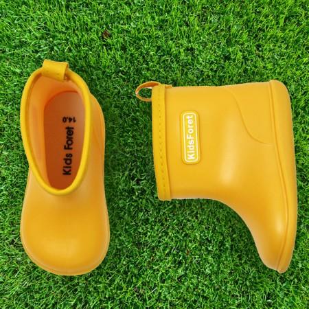 日本KidsForet  B81824Y  黃色  兒童雨鞋