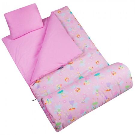 [LoveBBB] 符合 CPSIA 標準 美國 Wildkin 17417 精靈公主 拉鍊睡袋/兒童睡袋 (5-15歲)