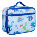 【LOVEBBB】符合美國 CPSIA 標準 Wildkin 33408 恐龍樂園 保冰保溫午餐袋/便當袋 (3~15歲)