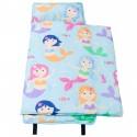 【LOVEBBB】 符合美國標準 Wildkin 49694 小美人魚  無毒幼教睡袋/午覺毯/兒童睡袋(2-7歲)