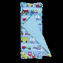 【LOVEBBB】 符合美國標準 Wildkin 49690 交通工具大集合 無毒幼教睡袋/午覺毯/兒童睡袋(2-7歲)