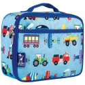 【LOVEBBB】符合美國 CPSIA 標準 Wildkin 33079 交通工具大集合 保冰保溫午餐袋/便當袋 (3~15歲)