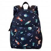 日本Wpc. W061 太空探險 兒童後背包-M 輕便背包 防潑水 (wkg01m)