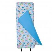 【LOVEBBB】符合美國標準 Wildkin 28081 小美人魚 無毒幼教睡袋/午睡毯/兒童睡袋(3-7歲)