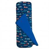 [LoveBBB] 無毒幼教睡袋 符合美國標準 Wildkin 24007 現代交通工具 捲捲收兒童長絨睡袋(2-7)