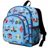 【LoveBBB】美國 Wildkin 幼兒背包/幼稚園/寶寶書包 40078 交通工具大集合(2~6歲)
