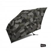 日本KIU  Air-Light Large 48103 抽象迷彩 空氣感 130g 摺疊/抗UV晴雨傘