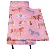 【LOVEBBB】 符合美國標準 Wildkin 49696 凱莉小馬 無毒幼教睡袋/午覺毯/兒童睡袋(2-7歲)