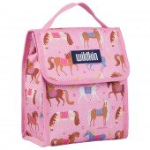 【LOVEBBB】符合CPSIA 美國 Wildkin 55708 凱莉小馬 直立式午餐袋/便當袋/保溫袋(3歲以上)