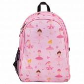 【LoveBBB】美國 Wildkin 兒童後背包/雙層式便利書包 67901 芭蕾舞女孩