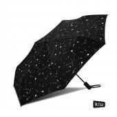 日本KIU ASC UMBRELLA自動開合雨傘/抗UV陽傘 65135 潑墨