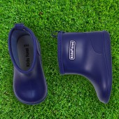 日本KidsForet  B81824N  海軍藍  兒童雨鞋