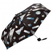 日本KIU 輕巧摺疊抗UV晴雨傘 31133 晝夜之間